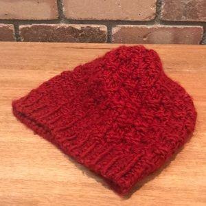 Red Gap Crocheted Beanie